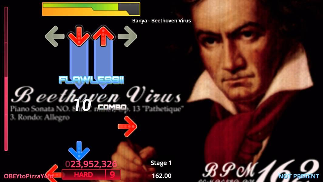 beethoven virus para stepmania 5