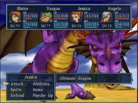 dragon quest 8 the true final trial, ultimate dragon and getting the gospel ring