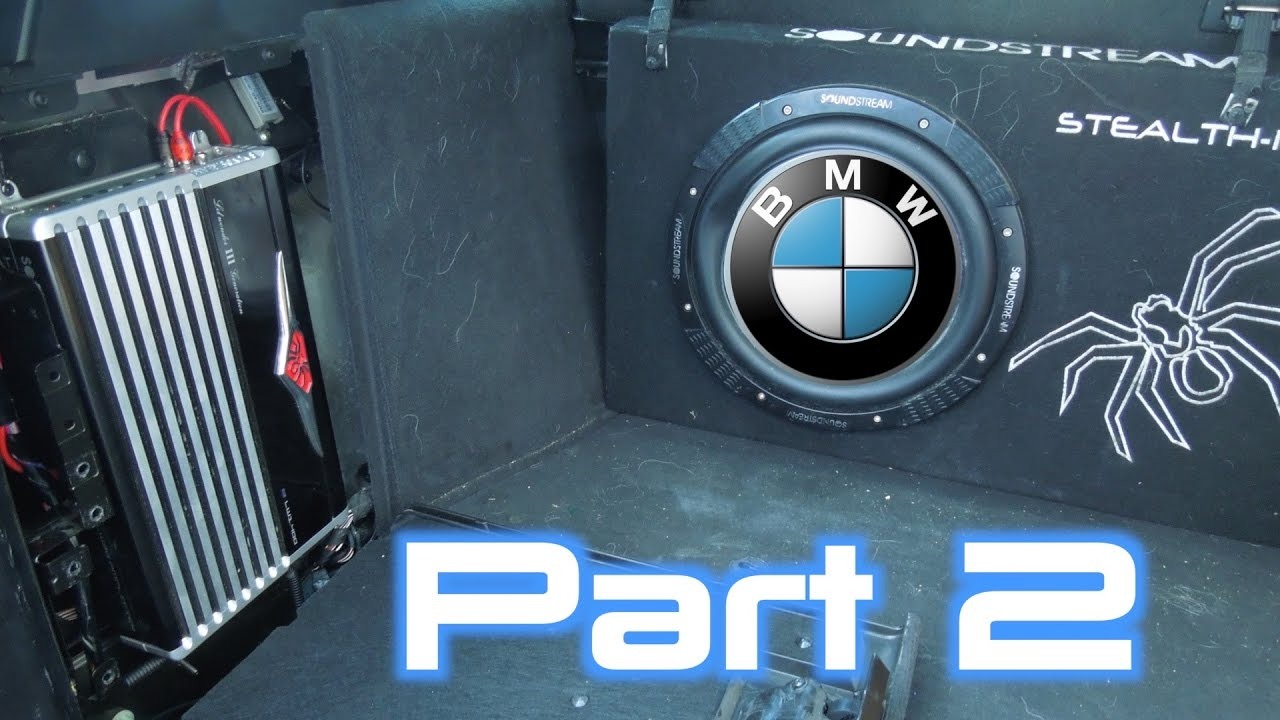 BMW X5 Amplifier Bypass & Subwoofer Amp Install!   Part 25  YouTube
