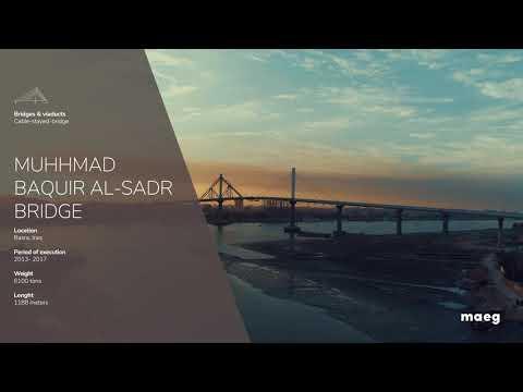 Maeg - Muhhmad Baquir Al Sadr Bridge (Basra, Iraq)