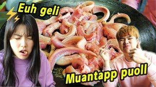 [kkomjangeo] MAKANAN EKSTRIM KOREA I KOREAN EXTREME FOOD 꼼장어 먹기
