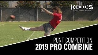 Punt Competition Finals | 2019 Pro Combine