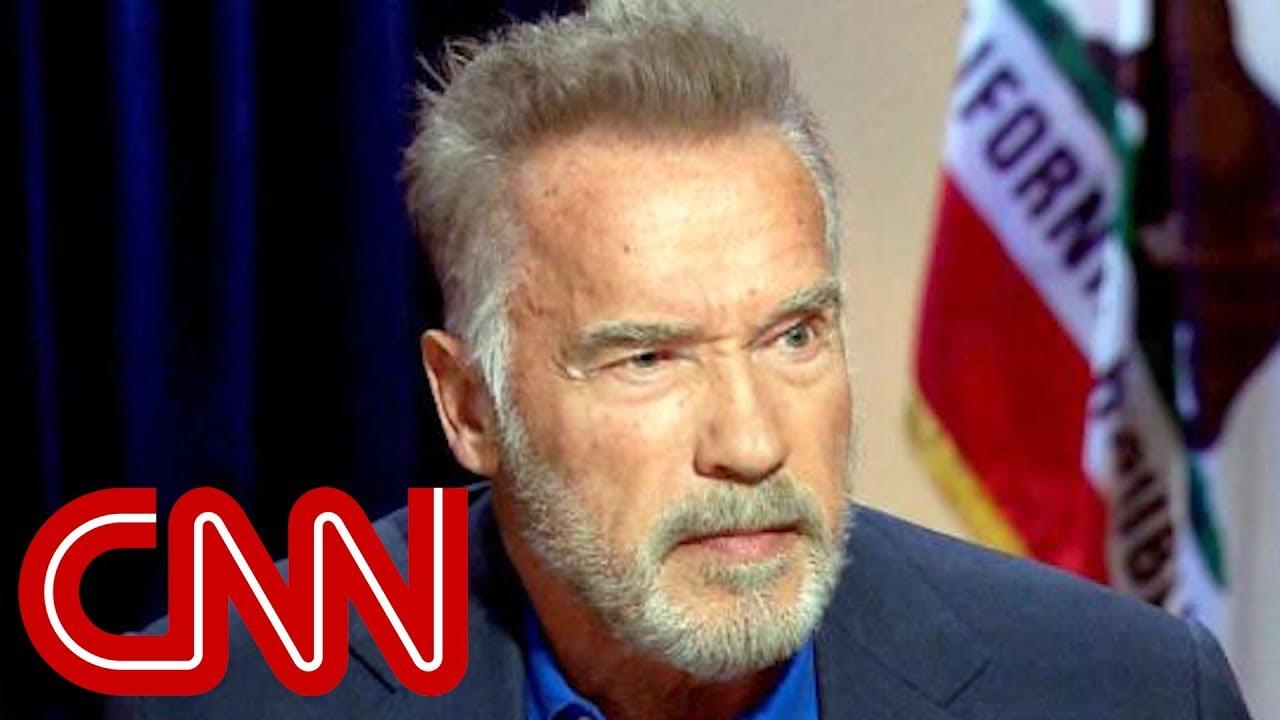 Arnold Schwarzenegger: Politics 'sucks' - YouTube