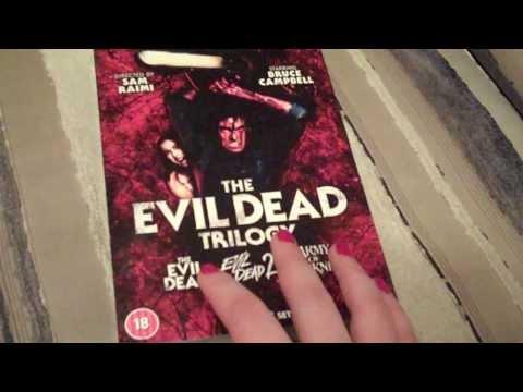 Evil Dead Trilogy Boxset *ASMR Whisper*