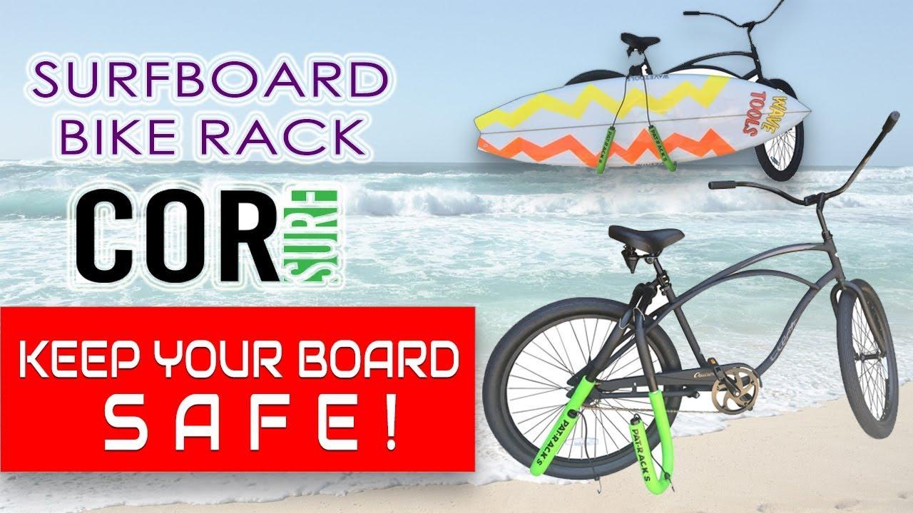 Cor Surf Bike And Longboard Rack