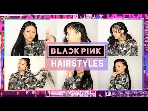 I Tried Copying 6 BLΛƆKPIИK 블랙핑크 Hairstyles |  ♡ BLACKPINK Hair Tutorial ♡