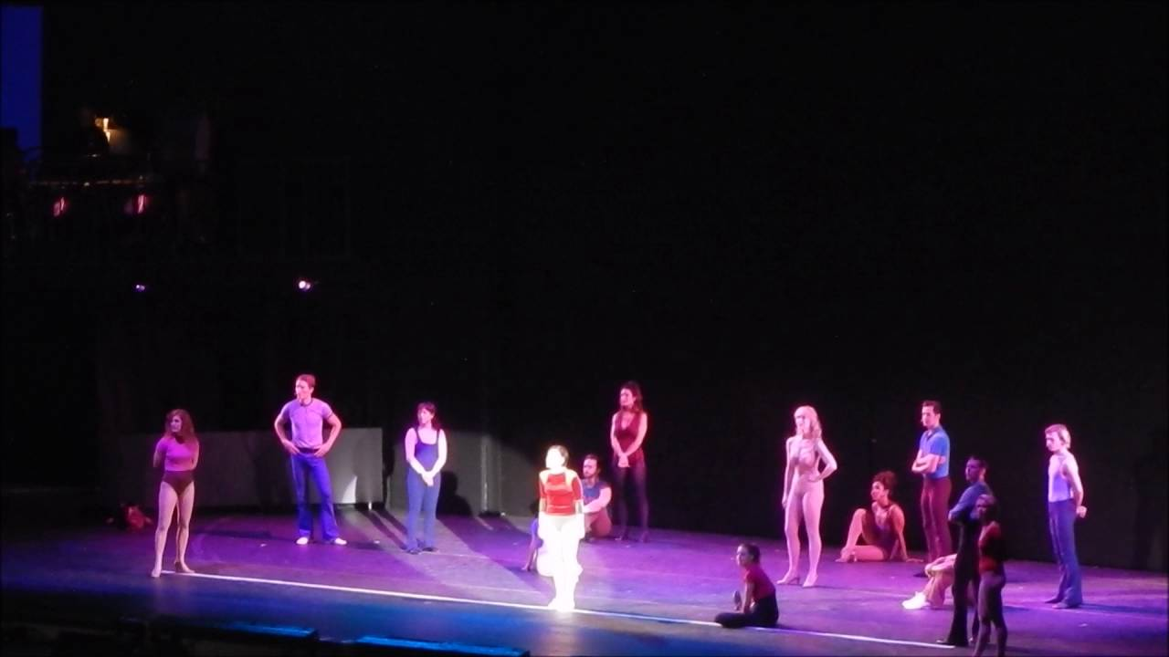 A chorus line with mara davi begins at marriott theatre - A Chorus Line What I Did For Love Hollywood Bowl