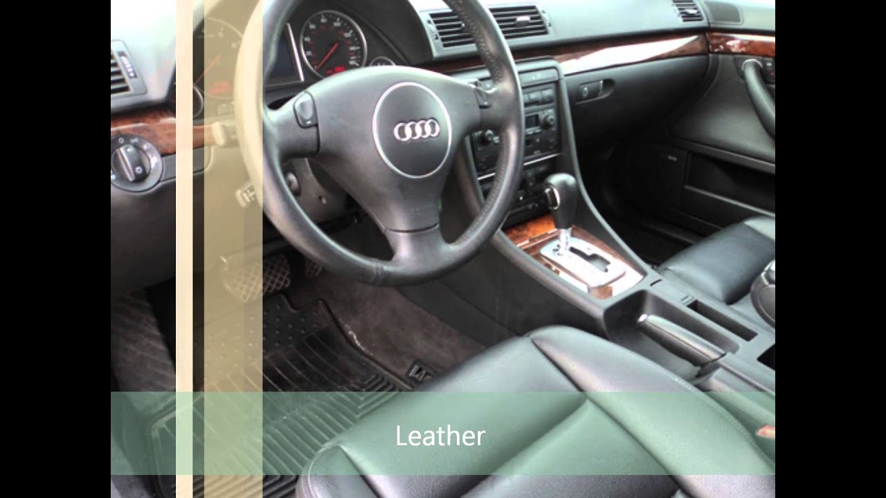 2002 audi a4 avant quattro wagon 3 0 v6 youtube. Black Bedroom Furniture Sets. Home Design Ideas