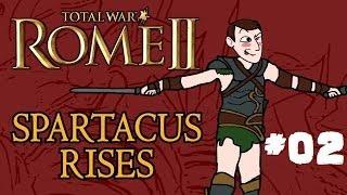 Total War: Rome 2 - Spartacus Rises - Part 2 - Tough Times!