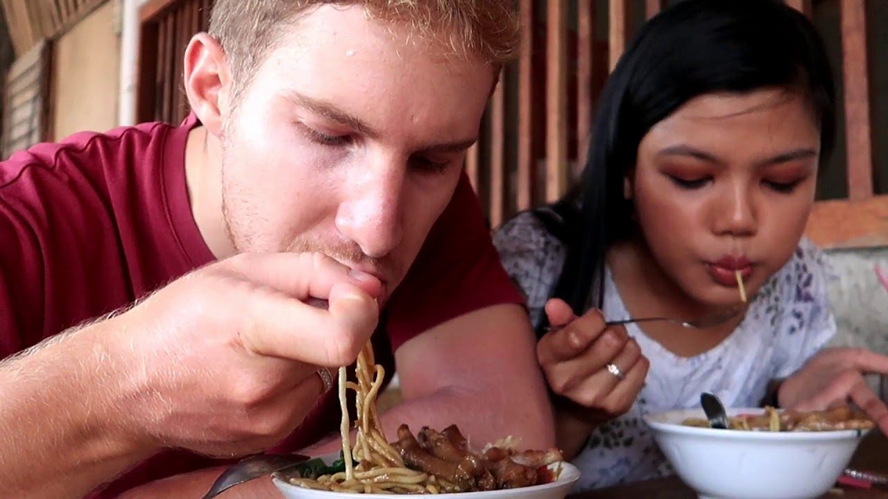 Mukbang Mie Ayam Tumini Bule Makan Ceker Matthera Youtube Kaos Anak Mangkok Kids
