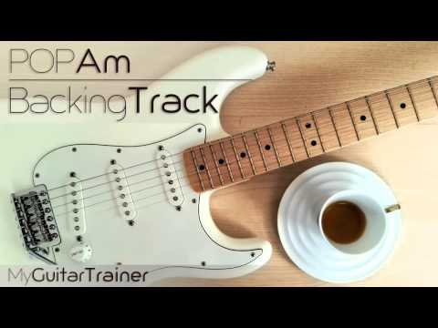 Backing Track - Pop Am (4 chords song)