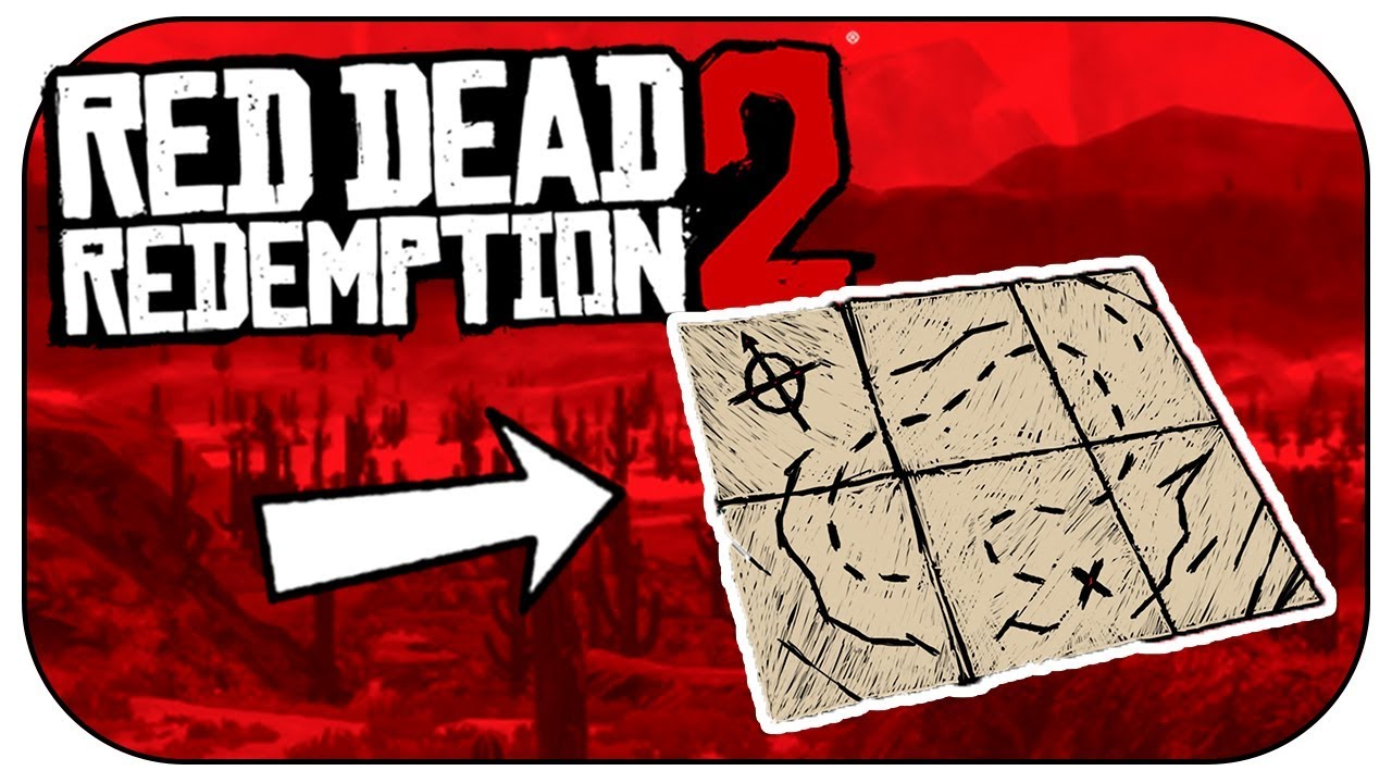 How to get the EXCLUSIVE TREASURE MAP! (Red Dead Redemption 2)