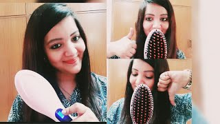 Fast hair straightener HQT 906||Hot comb ||product review &demo ||Honest review||buy OR ||