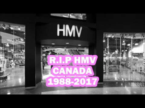 HMV To Close All 102 Stores Across Canada