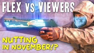 Flex VS Viewers - Nutting in November!? (Black Squad)