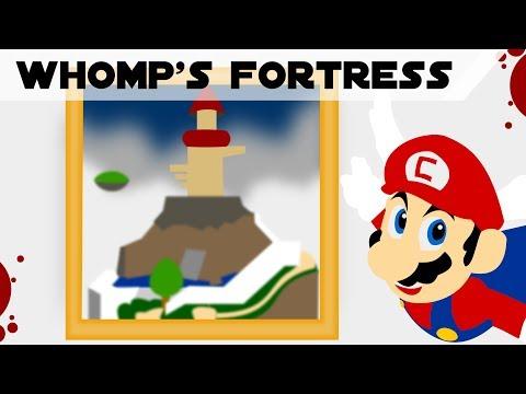 The Seven Stars of Whomp's Fortress - Super Mario 64