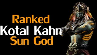Mortal Kombat X - Ranked Matches with Kotal Kahn