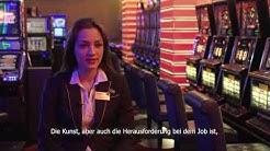 Arbeiten im Casino - Gästebetreuerin