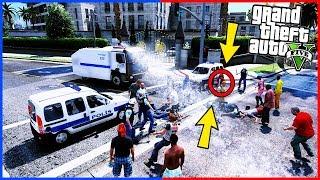 KONSOLOSLUK ÖNÜNDEKİLERE TOMA MÜDAHALESİ! - GTA 5 ÇEVİK KUVVET MODU