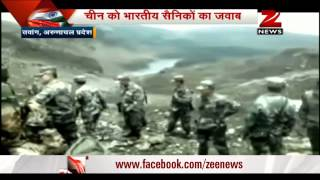 Arunachal Pradesh: Chinese tr๐opers try to destroy border wall