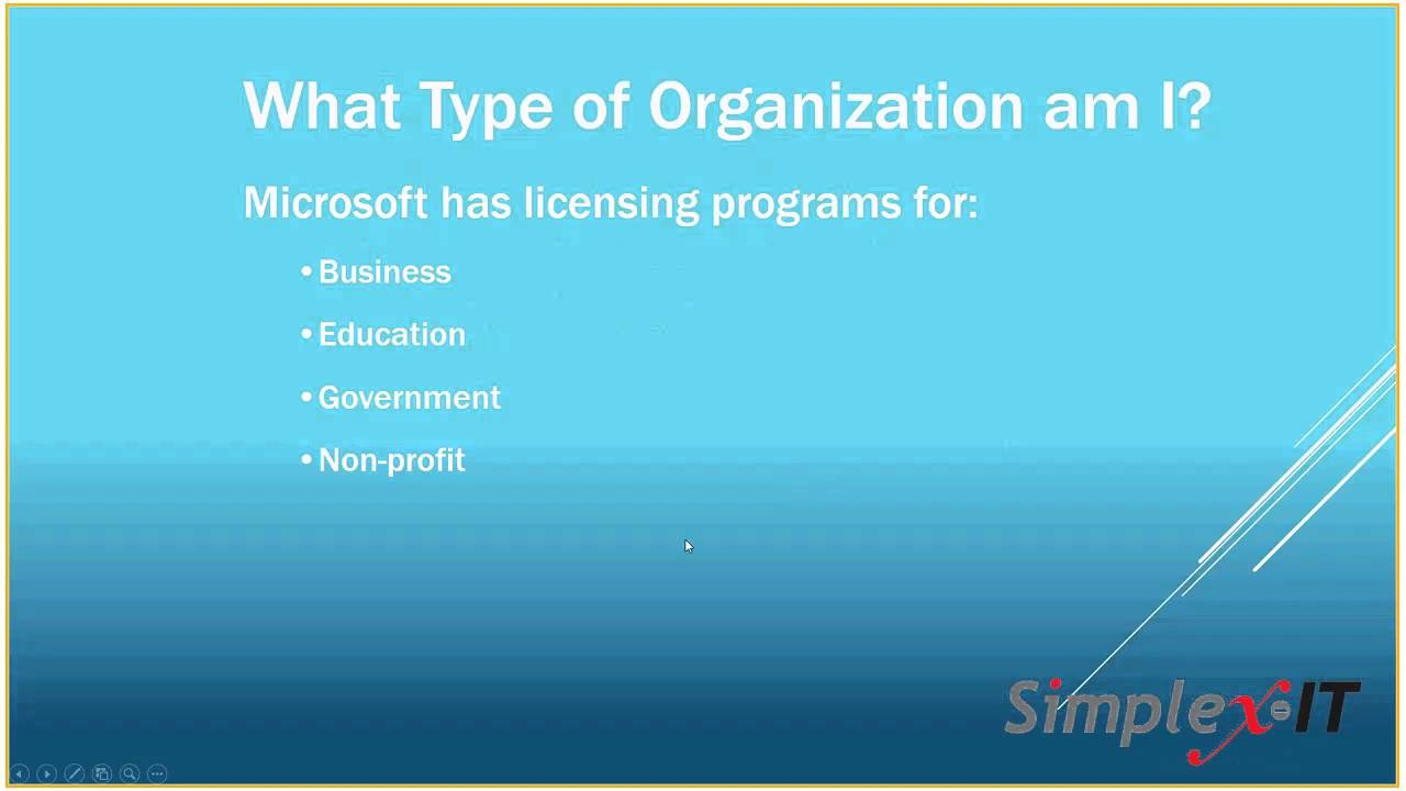 Office 365 Licensing Overview