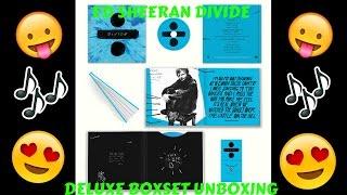 ED SHEERAN DIVIDE DELUXE SET UNBOXING