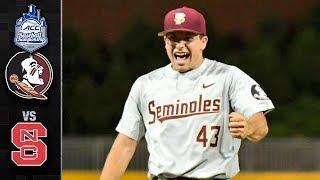 Florida State vs. NC State ACC Baseball Championship Highlights (2018)