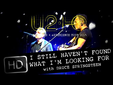 U2 and BRUCE SPRINGSTEEN - I STILL HAVEN'T FOUND (U2IE TOUR LIVE FROM NEW YORK - DVD FORMAT)