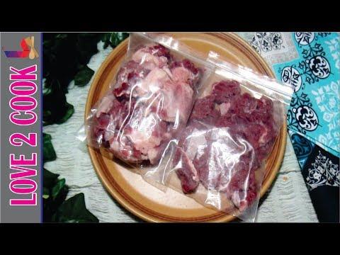 How To Freeze Meat Properly-Freezing Meat(Gosht) Urdu Hindi