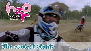 behind the scenes the coolest stunts h2o just add water official fan channel