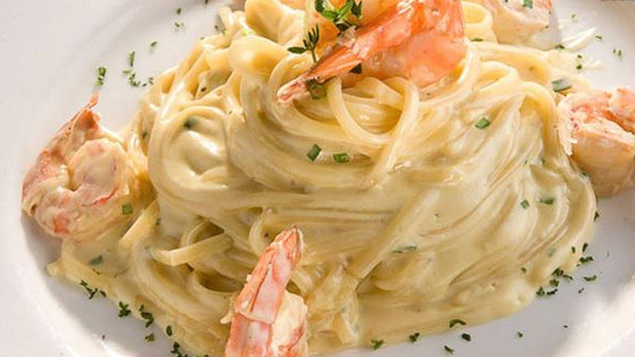 Receta de pasta con camarones primavera recipe for pasta with shrimp spring youtube - 100 maneras de cocinar pasta ...