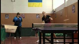 Настольный теннис. Маргарита Песоцкая