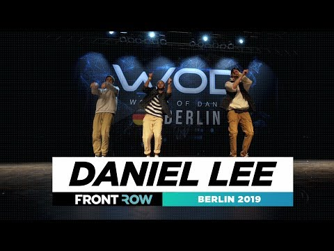 Daniel Lee | FRONTROW | Showcase | World of Dance Berlin Qualifier 2019 | #WODBER19