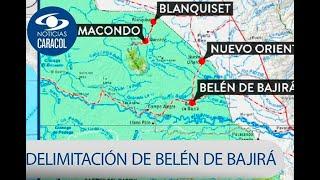 ¿Qué ha pasado entre Antioquia y Chocó un año después de la delimitación de Belén de Bajirá?