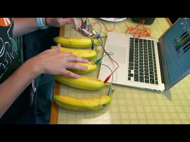 Enjoy The Dulcet Tones Of The Banana Piano | Street Science