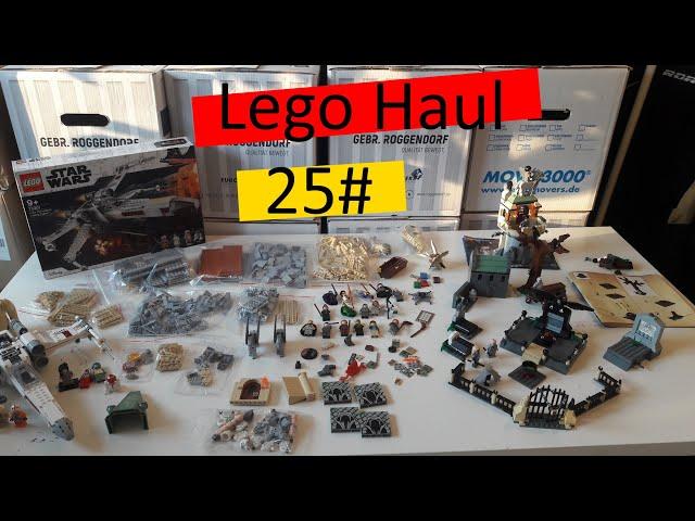 Lego Haul 25# Harry Potter, Star Wars und viele Teile