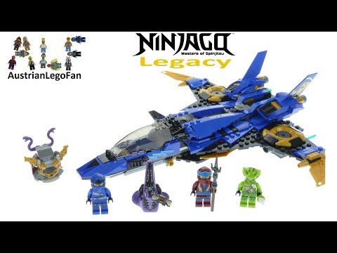 Lego Ninjago Legacy 70668 Jay´s Storm Fighter - Lego 70668 Speed Build