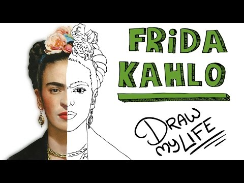 FRIDA KAHLO | Draw My Life