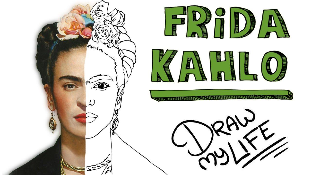 Frida Kahlo Para Dibujar: Draw My Life - YouTube