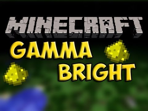 how to change your gamma in minecraft