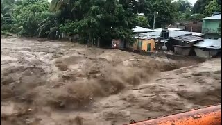 Tropical Storm Amanda Brings Severe Floods and Winds to El Salvador - May  31, 2020
