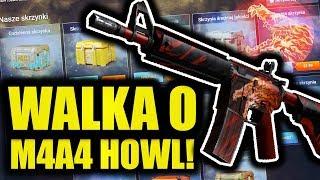 WALKA O M4A4 HOWL! - CS:GO OPENING