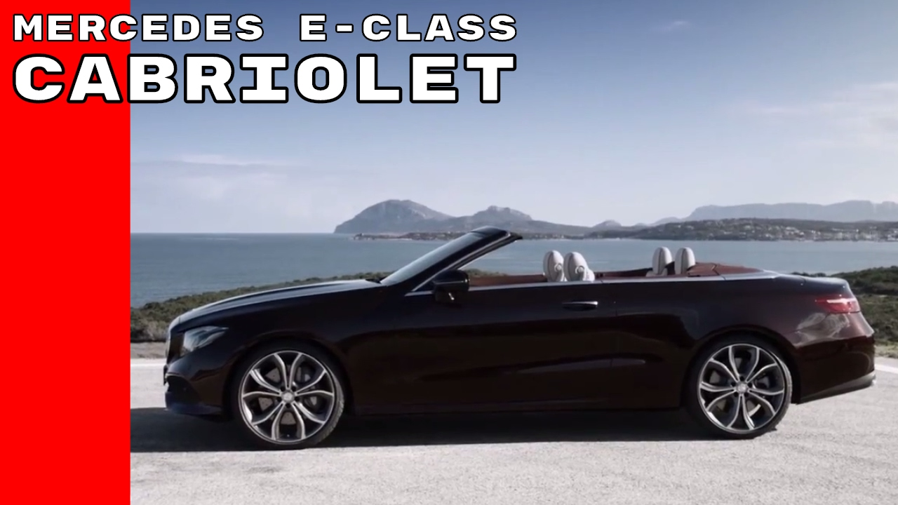 2018 mercedes e class cabriolet amg line youtube. Black Bedroom Furniture Sets. Home Design Ideas
