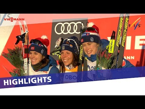 Highlights | Kalla triumphs in Lillehammer Skiathlon | FIS Cross Country