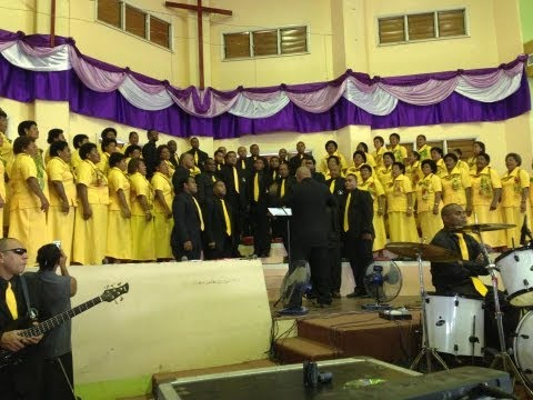 Fijian Gospel: LFT Choir..Breathe On Me