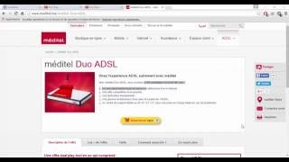 Test ADSL Meditel