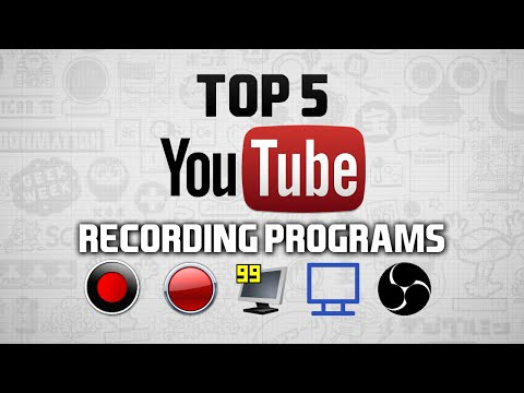 Top 5 Best Game Recording Software - 2015 (Streaming & Youtube)