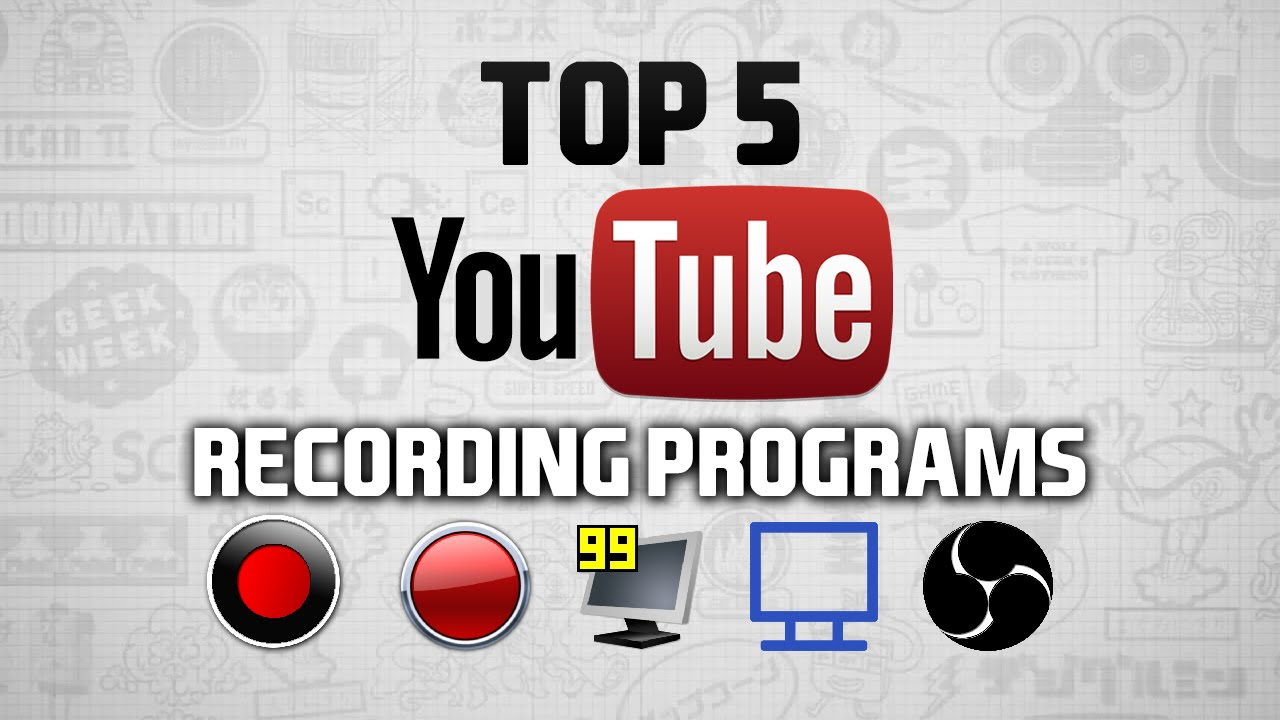 top 5 best game recording software 2015 streaming youtube youtube. Black Bedroom Furniture Sets. Home Design Ideas