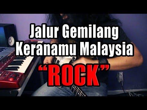 Jalur Gemilang & Keranamu Malaysia - Guitarist Malaya