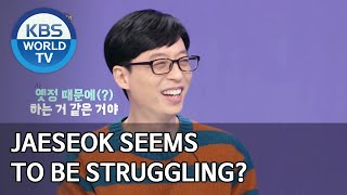 Jaeseok seems to be struggling? [Happy Together/2020.04.02]